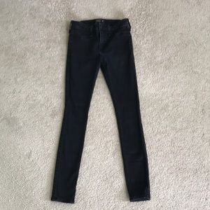 Abercrombie Black Jeggings